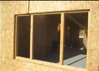 recessed windows