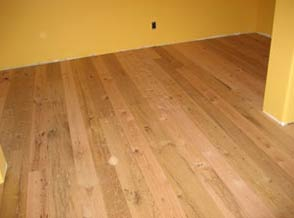oak barn wood floor