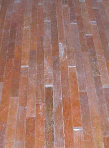 used oak flooring