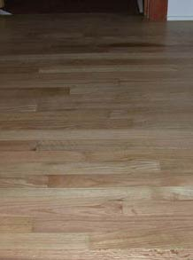 used oak floorng, finished